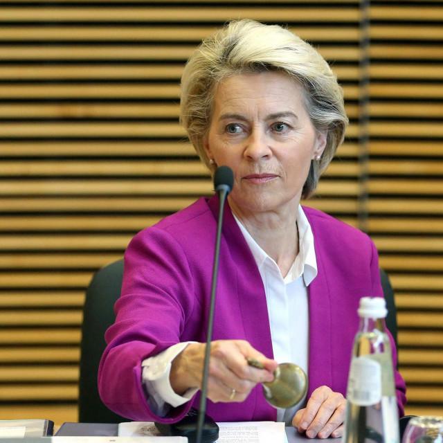 Predsjednica Europske komisije Ursula van der Leyen