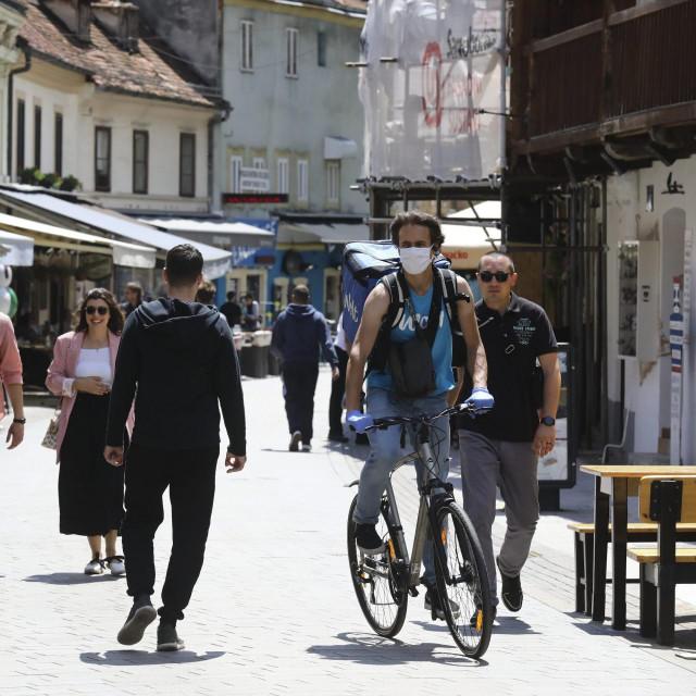 Tkalčićeva ulica u Zagrebu