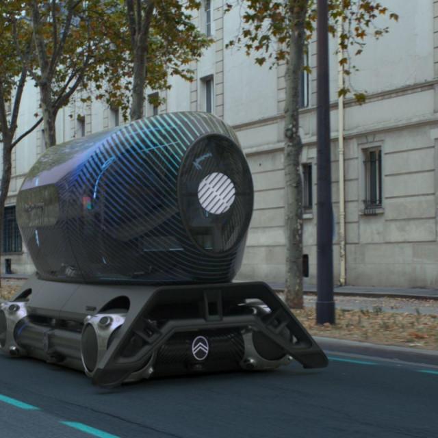 Citroën Urban Collëctif koncept