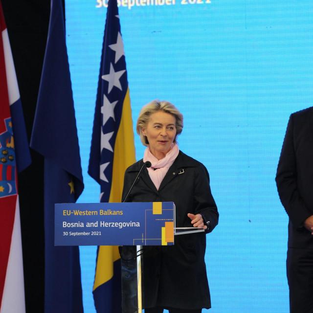 Ursula von der Leyen i Andrej Plenković<br /> <br /> <br /> <br /> <br /> <br /> <br />