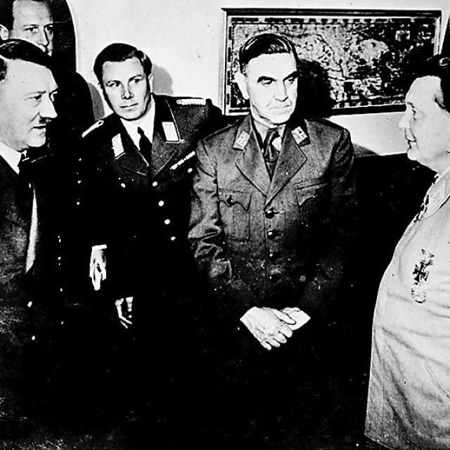 Adolf Hitler, Ante Pavelić i Herman Göring