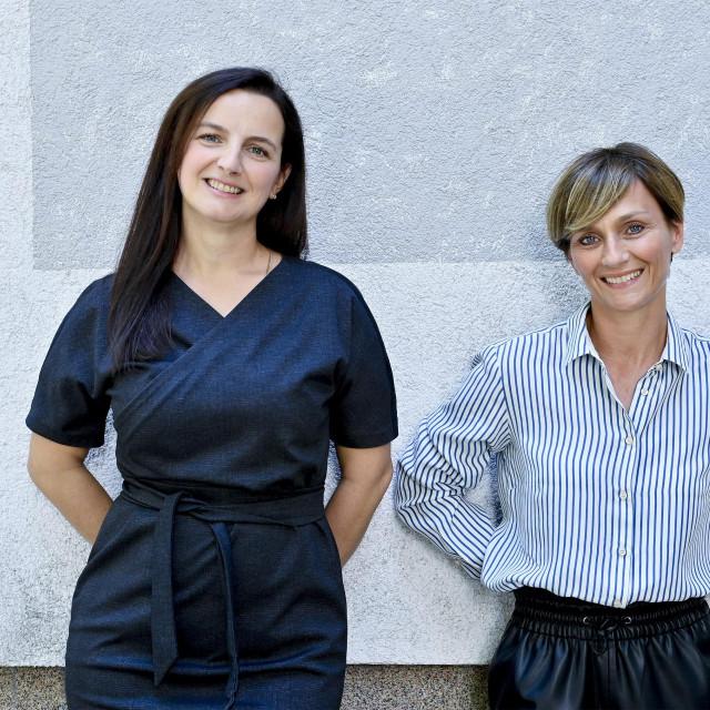 Maja Bogović i Vesna Babić