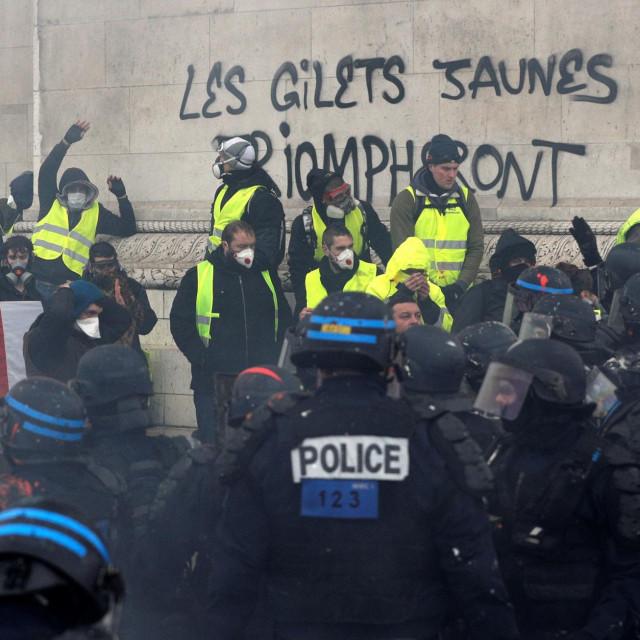 """Prosvjedi""""žutih prsluka"""""""