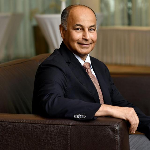 Husain Al Musallam, predsjednik Svjetske plivačke federacije.