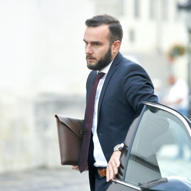 Ministar rada, mirovinskog sustava, obitelji i socijalne politike Josip Aladrović