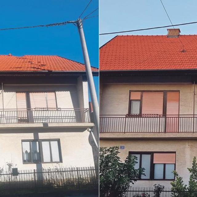 Obnova na Baniji: Prije i poslije