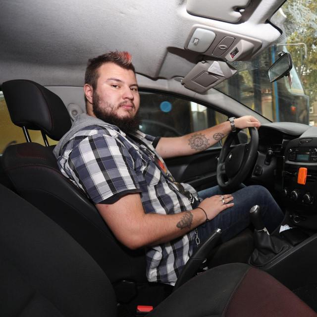 Vozač Ubera Karlo Lalić