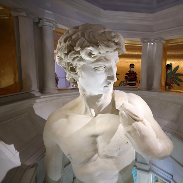 Replika Michelangelovog Davida izrađena je zahvaljujući laserskom skeniranju i 3D print tehnologiji