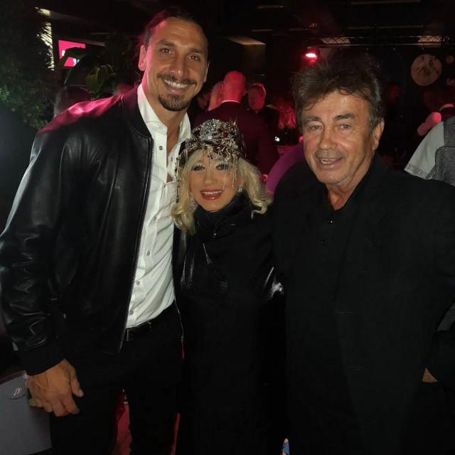 Nada Topčagić zapjevala je na proslavi 40. rođendana Zlatana Ibrahimovića