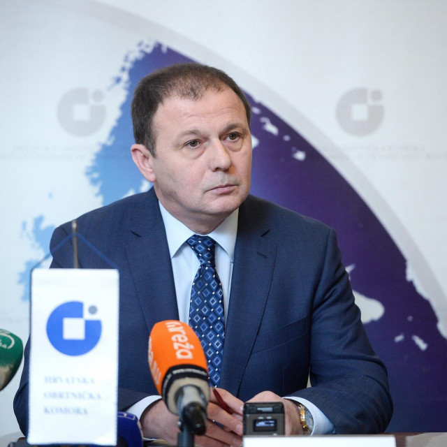 Dragutin Ranogajec, predsjednik HOK-a