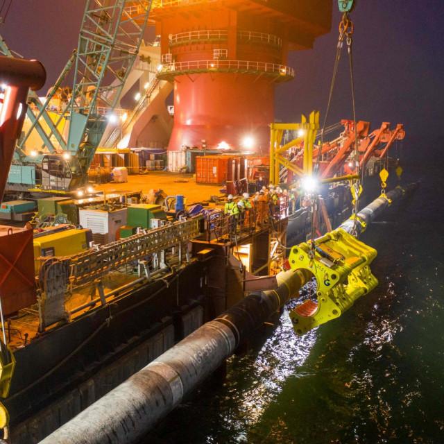 Polaganje cijevi za plinovod Sjeverni tok 2<br /> (Photo by Handout/Nord Stream 2 AG/AFP)