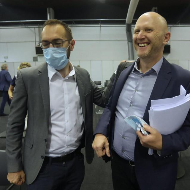 Tomislav Tomašević i Renato Petek
