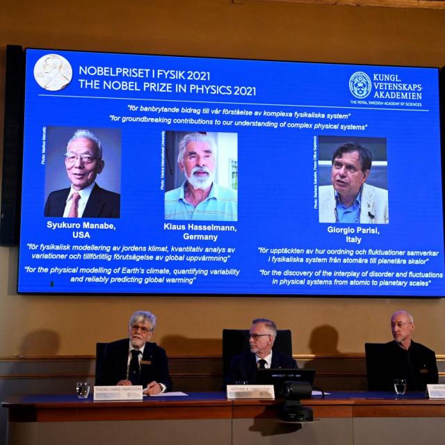Proglašenje dobitnika Nobelove nagrade za fiziku 2021.