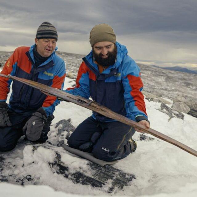 Više od 1300 godina stara skija