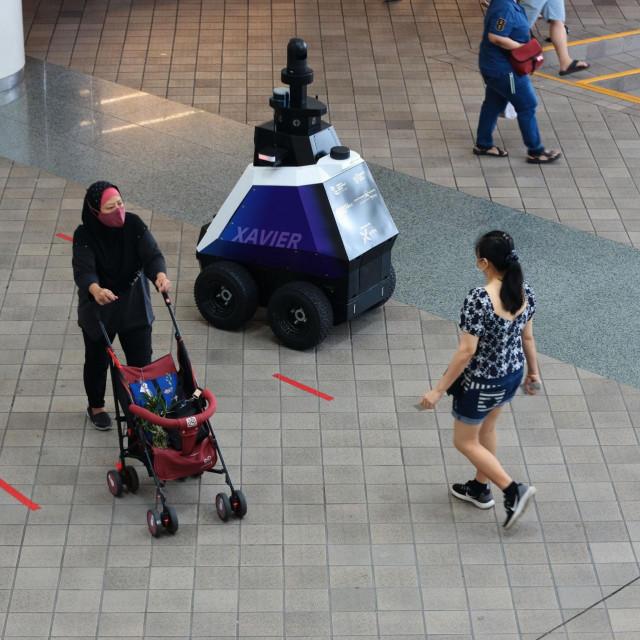 Uvođenje robotskog nadzora podijelio je građane na one koji se vesele višem stupnju sigurnosti i one koji strahuju za privatnost