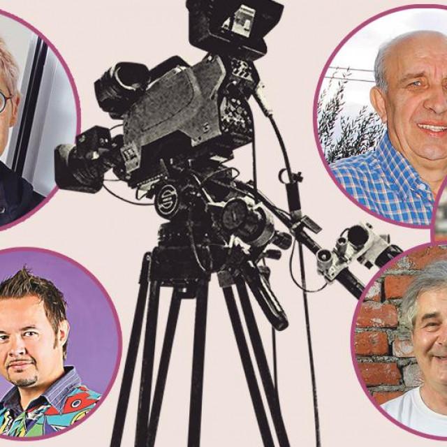 Slijeva nadesno: Ksenija Urličić, Marija Nemčić, Robert Knjaz, Miroslav Lilić, Đelo Hadžiselimović, Hloverka Novak Srzić