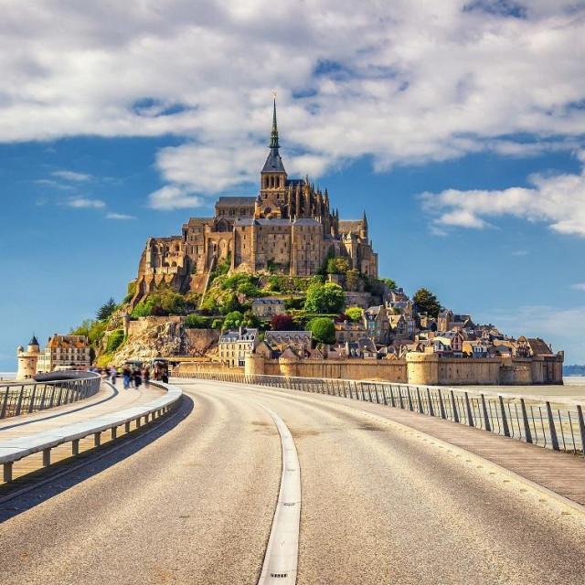 Mon Saint-Michel, Normandy, France