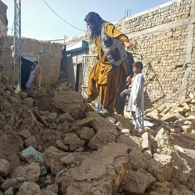 Posljedice potresa na jugu Pakistana