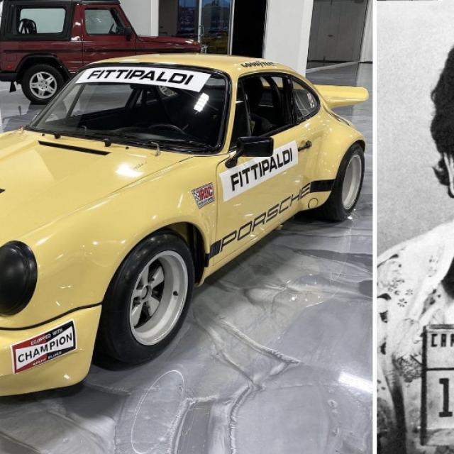 1974 Porsche 911 Carrera 3.0 RSR i Pablo Escobar