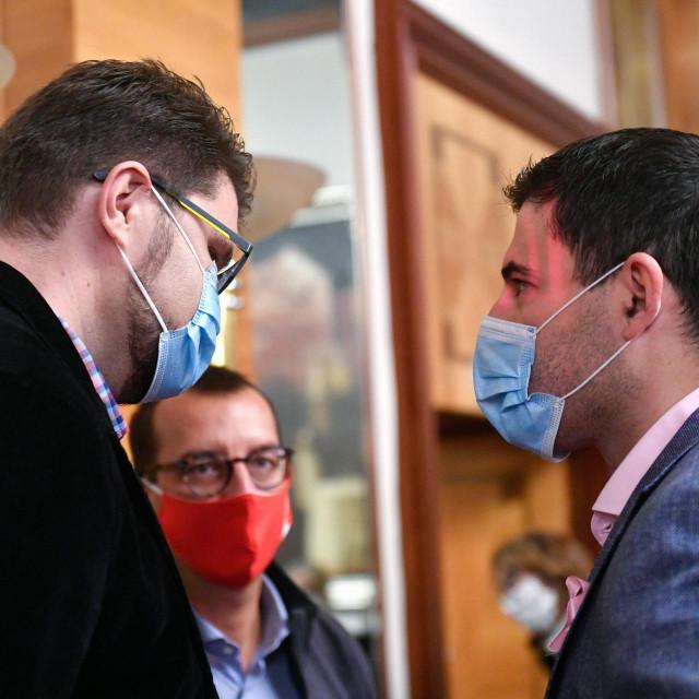 Peđa Grbin i Davor Bernardić