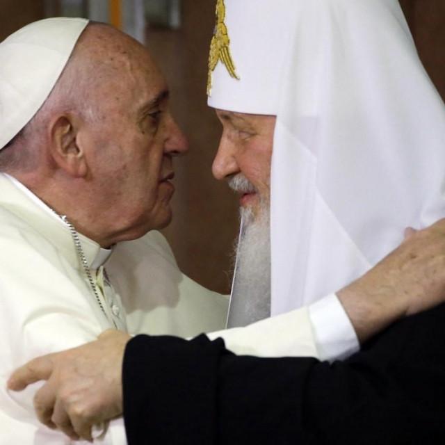 Papa Franjo i patrijarh Kiril