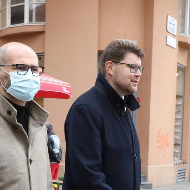 Davor Bernardić, Joško Klisović, Peđa Grbin