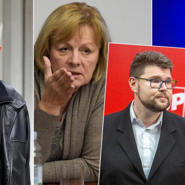 Mato Crkvenac, Željka Antunović, Gvozden Flego, Peđa Grbin