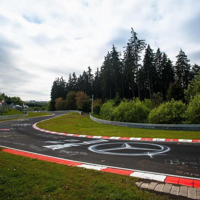 Nürburgring ilustracija
