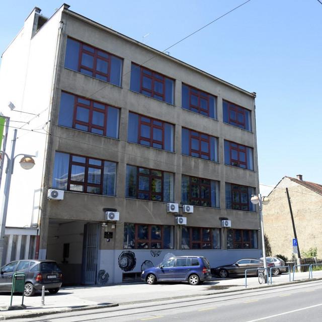 Zgrada drvodjeljske skole u Zagrebu, Savska 86