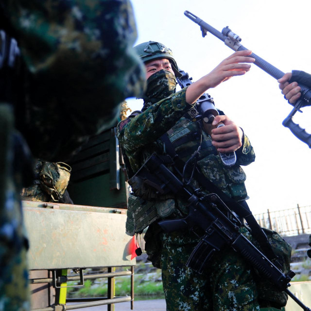 Tajvanski vojnici/Ilustracija