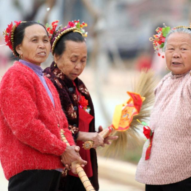 Kineskinje treće životne dobi