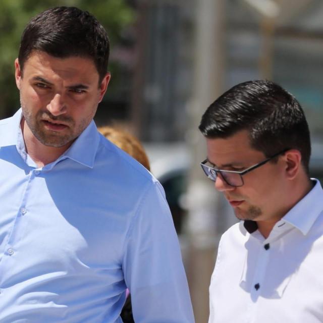 Davor Bernardić i Domagoj Hajduković