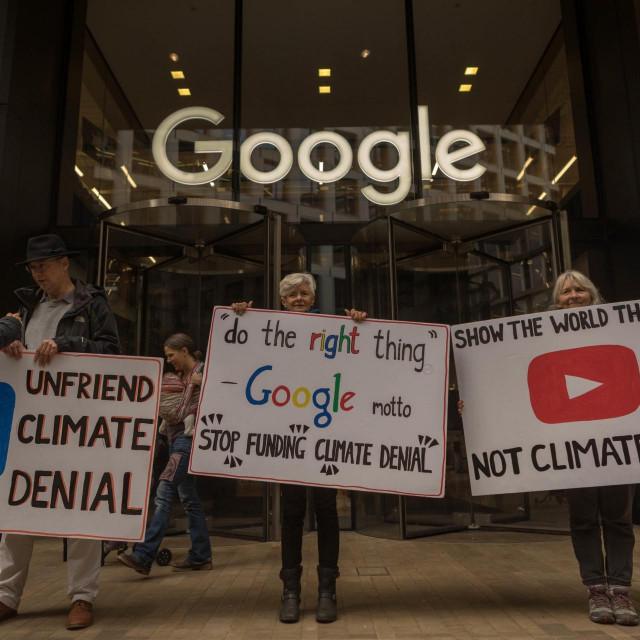 Prosvjedi ispred Googleova sjedišta
