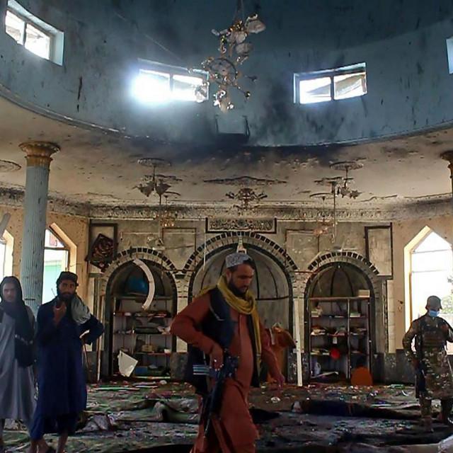 Talibanski borci istražuju napad na džamiju u Kunduzu