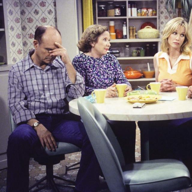 Kurtwood Smith, Debra Jo Rupp, Tanya Roberts i Don Stark u seriji 'Lude sedamdesete'