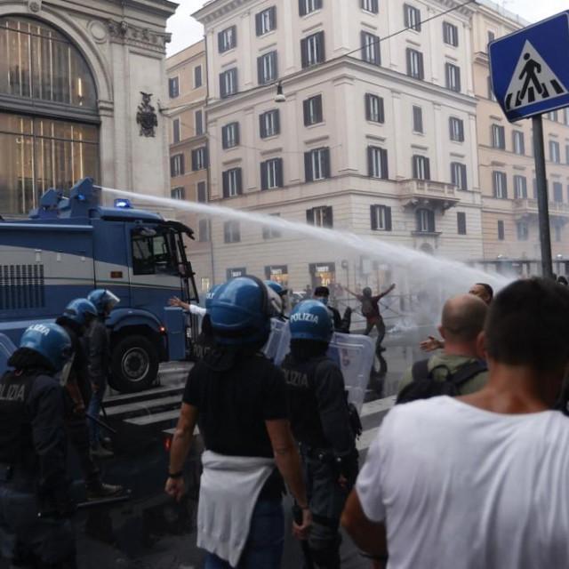 Prosvjed u Rimu