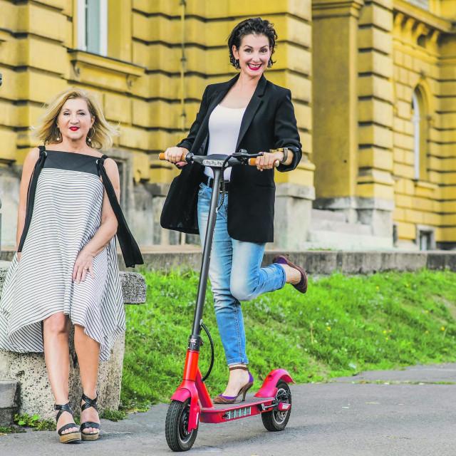Olga Pakalović i Mirjana Dugandžija