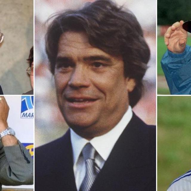 Franjo Tuđman, Tomislav Ivić, Bernard Tapie, Miroslav Ćiro Blažević, Alen Bokšić