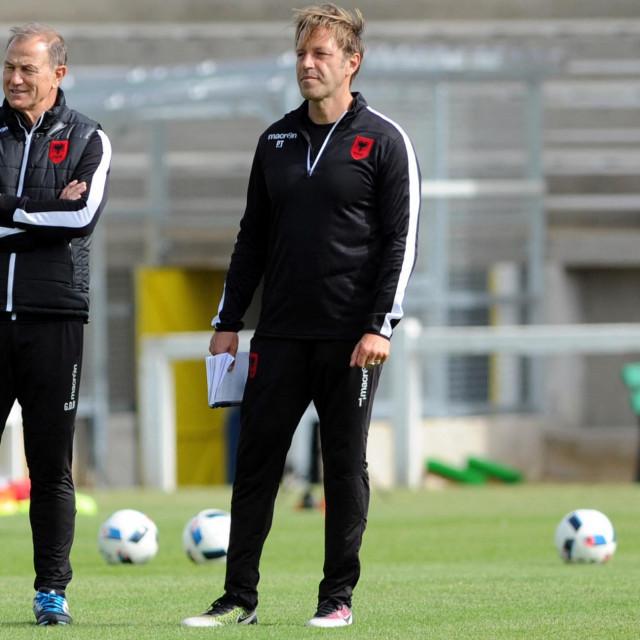 Paolo Tramezzani (desno)