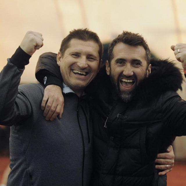 Silvio Marić (lijevo)