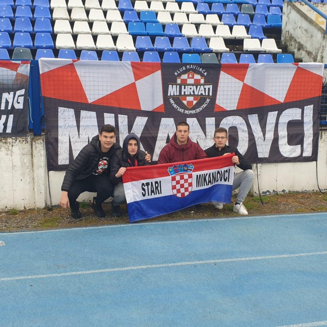 Navijači u Osijeku