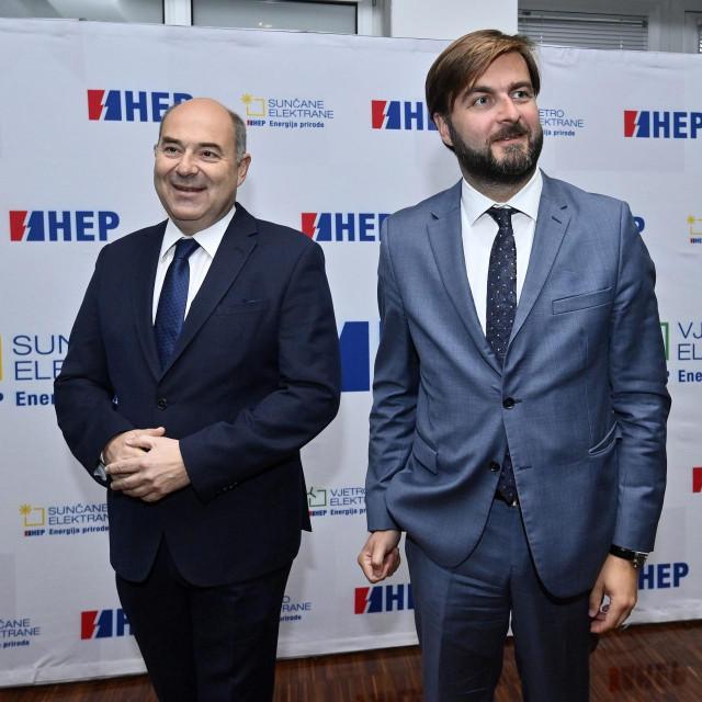 Frane Barbarić i Tomislav Ćorić
