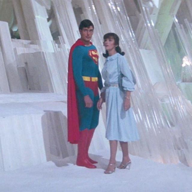Scena iz filma Superman II, Christopher Reeve i Margot Kidder