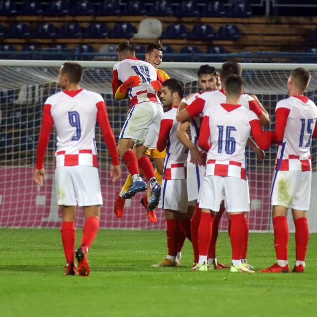 Slavlje igrača Hrvatske