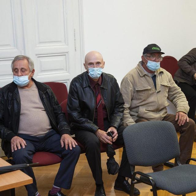 Čitanje presude optuženim grobarima