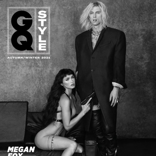 Megan Fox i Machine Gun Kelly na naslovnici britanskog izdanja časopisa GQ