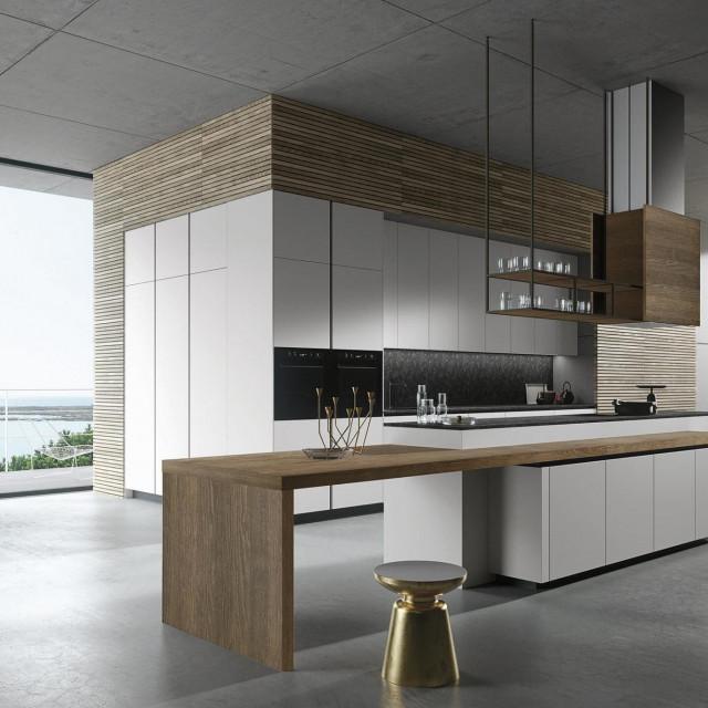 Salon InArt, Zagreb, Buzin - LOOK -Snaidero kuhinja modernog izgleda