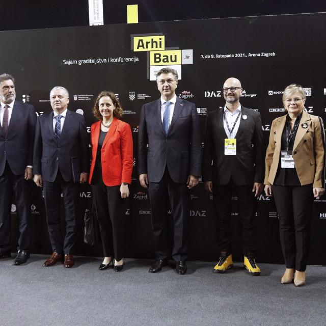 Darko Horvat, Andrej Plenković, Nina Obuljen Koržinek, Radovan Fuchs, Tihomil Matković, Tomislav Tomašević i Mirjana Čagalj
