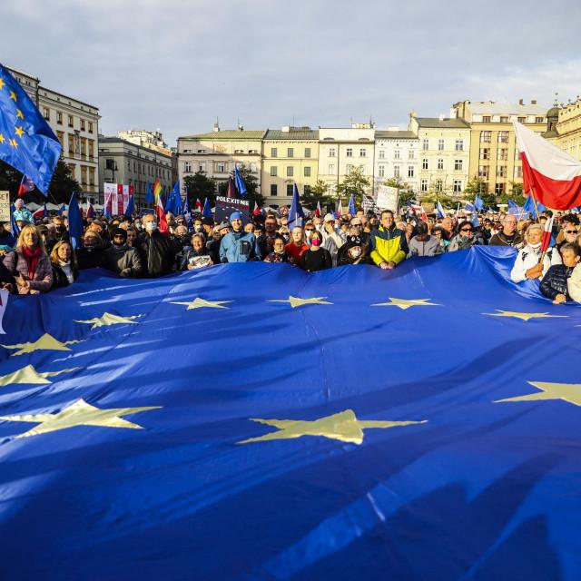 Proeuropske demonstracije održale su početkom tjedna diljem Poljske