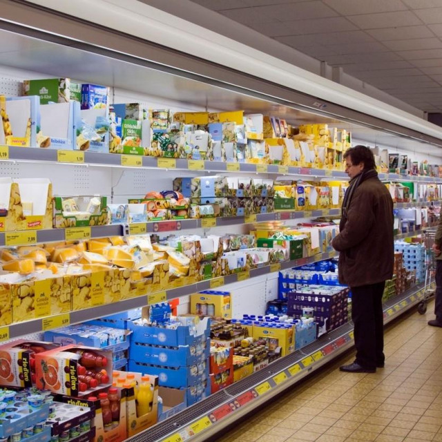 Ilustracija/Supermarket u Njemačkoj